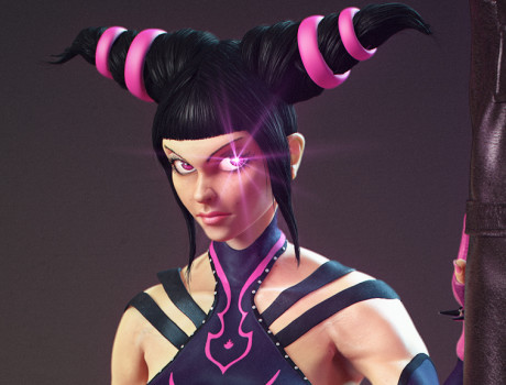 Juri Han – Super Street Fighter IV