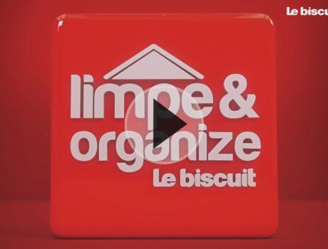 LE BISCUIT – Limpe e Organize – 2015